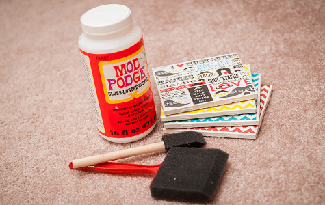 Summer craft ideas with Mod Podge