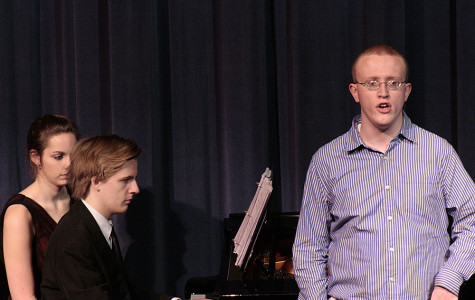 Honors Recital closes school year with song