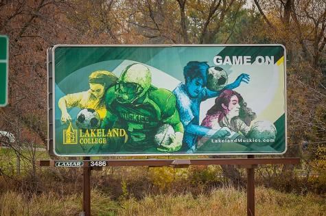 Alum of LC creates billboard for college