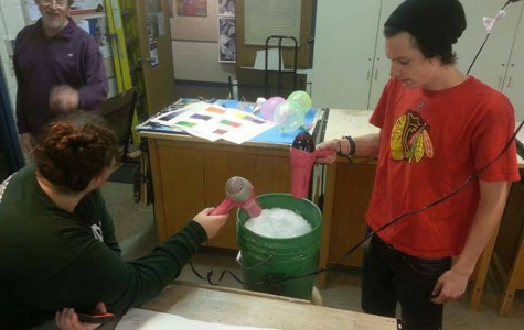 Students innovate during recent water break