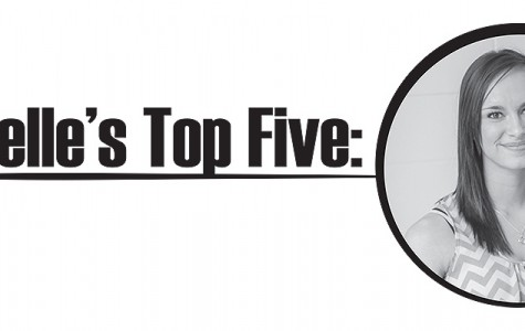 Danielle's Top Five: Spring Break