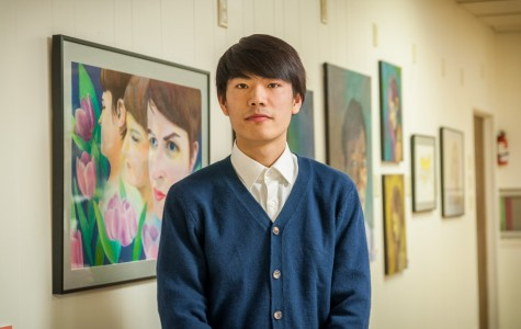 Art student gets public display of work