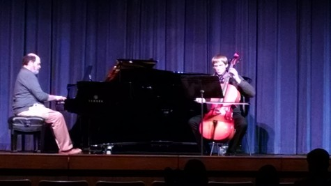 Students display musical ability at recital