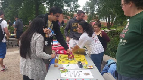 Campus hosts involvement fair