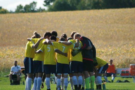 Men's soccer team fights to end