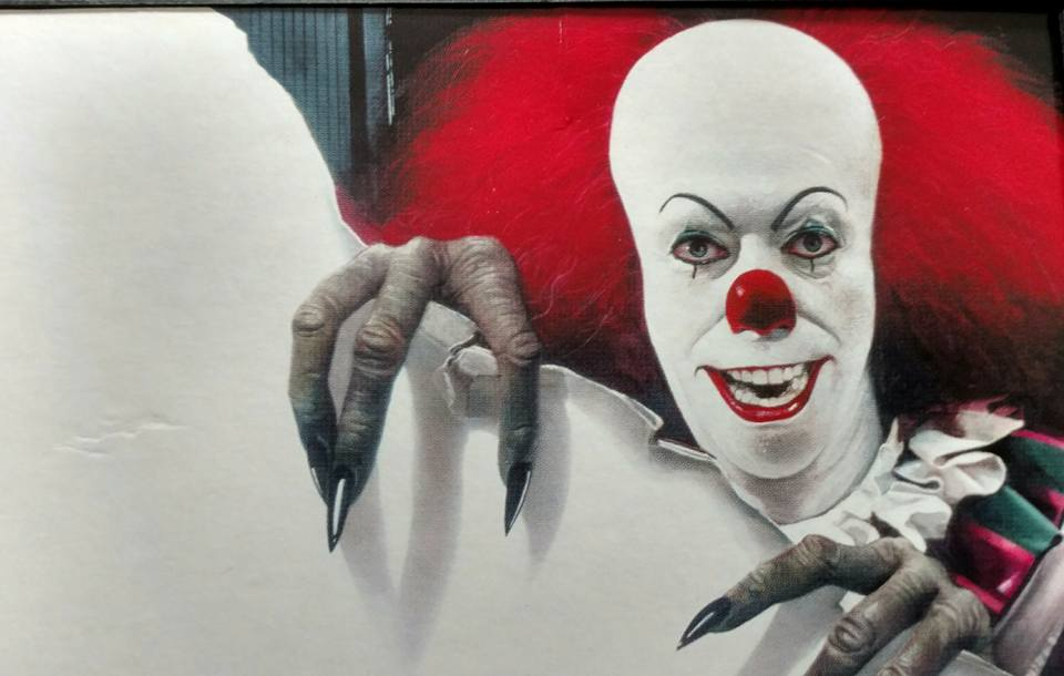 Pennywise the clown from