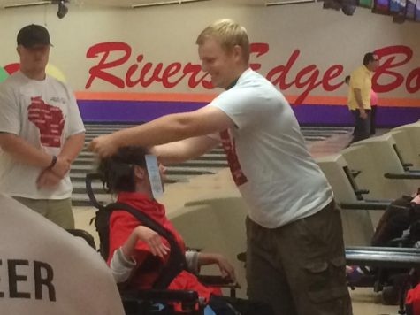 Muskies coach special needs atheletes at bowling tournament