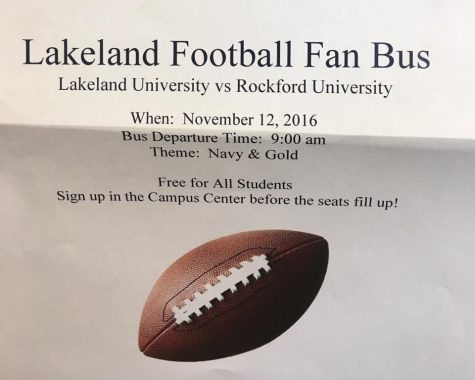 Upcoming fan bus to Rockford