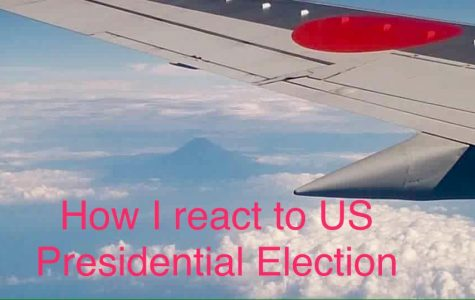 How an international student reacts to Trump