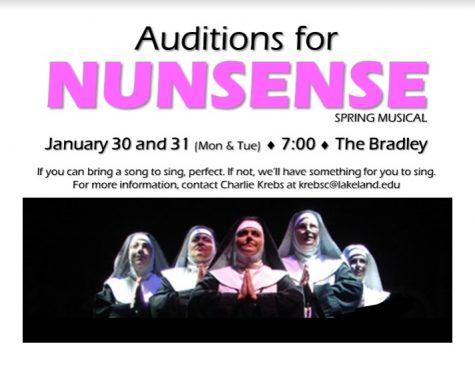 Auditions to be held for spring musical