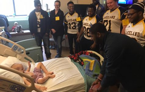 Lakeland football supports two-year-old battling cancer