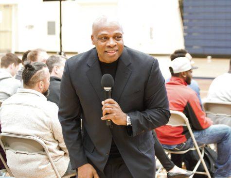 Coach Carter convocation lends advice
