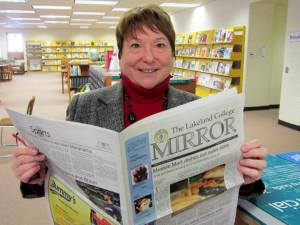 Esch Library welcomes Teresa Grimm