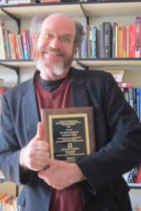 Rick Dodgson wins Underkofler Award