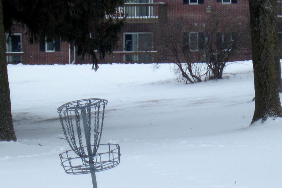 Disc golfers seek new course in woods