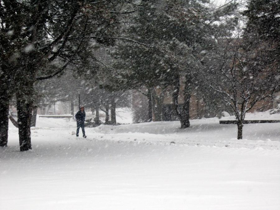 Winter storm Nemo creates minimal disturbance for Lakeland College.