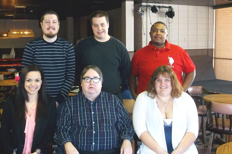 Lakeland College's debate team.