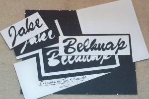 Jake Belknap's senior artist reception slideshow