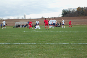 Men's soccer suffers painful loss