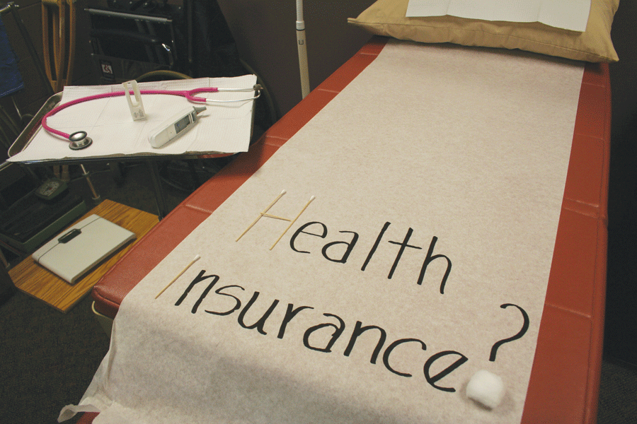Make sure to hand in your health insurance forms to avoid a charge of $817.60.