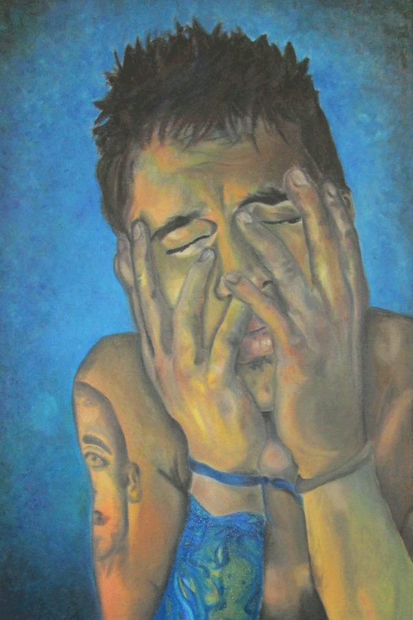 Self+portrait-+oil+paints