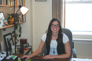Alumna Jodie Liedke boomerangs back as professor