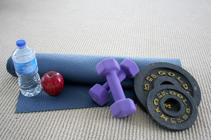 The Wehr Center is a great place to relieve stress by working out.