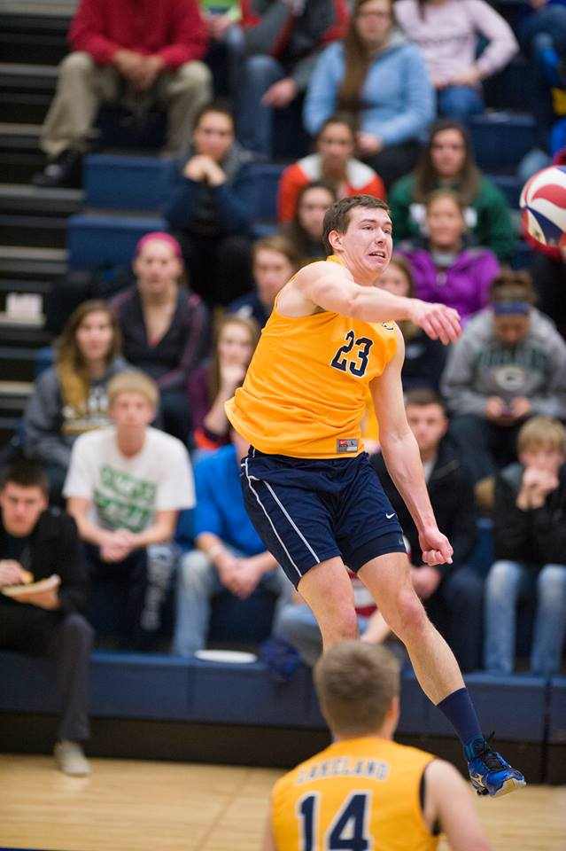 Alec Redlich earned his spot on a trip that will take him to Brazil to play volleyball and travel.
