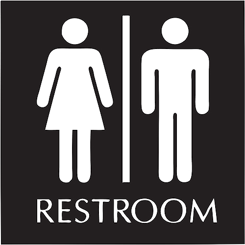 Sign or prejudice: Which bathroom to use?
