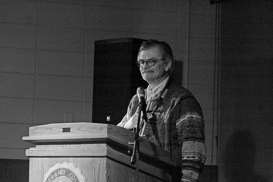 Karl Elder started the Great Lakes Writers Festival to bring writers to LC.