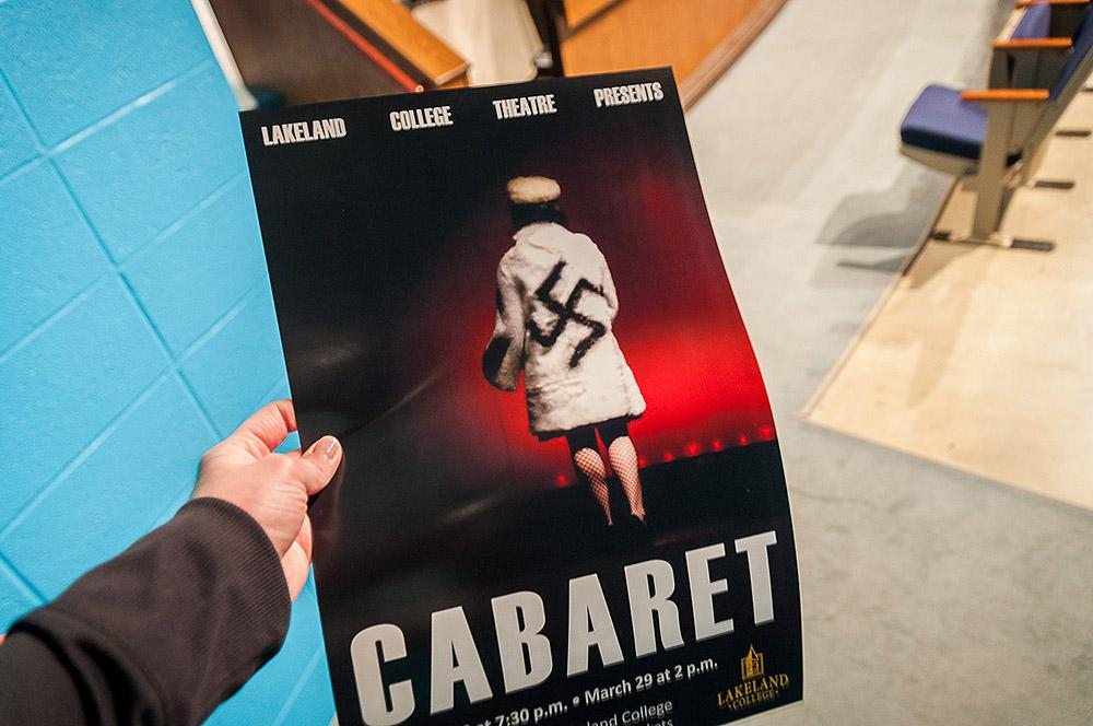 Cabaret will take place on March 26-28 at 7:30 p.m. and on March 29 at 2 p.m in the Bradley Theatre. Tickets are free for students and can be picked up at Nash.
