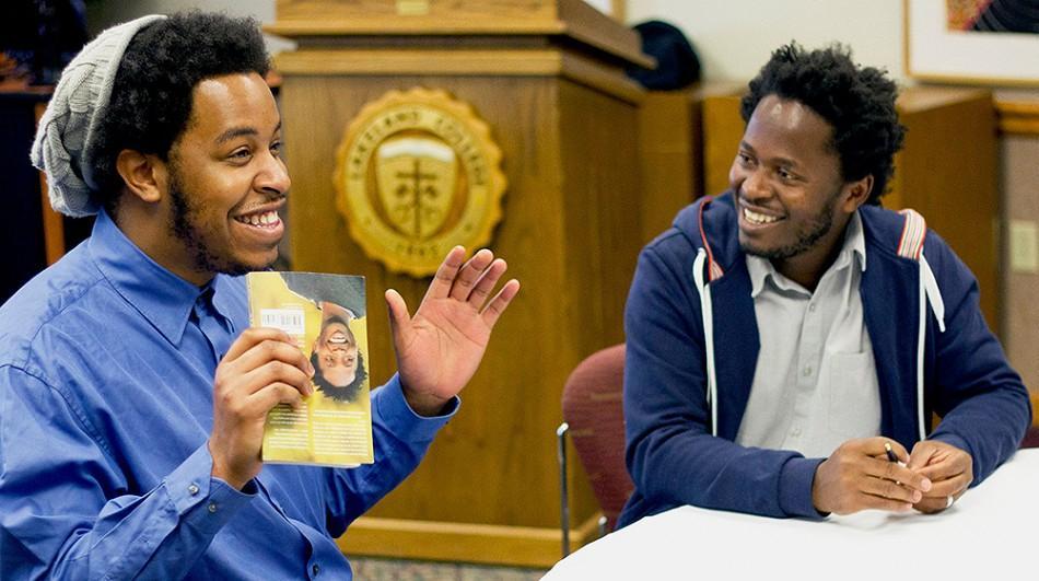 Benjamin Wilks and Ishmael Beah discuss Beah's book.