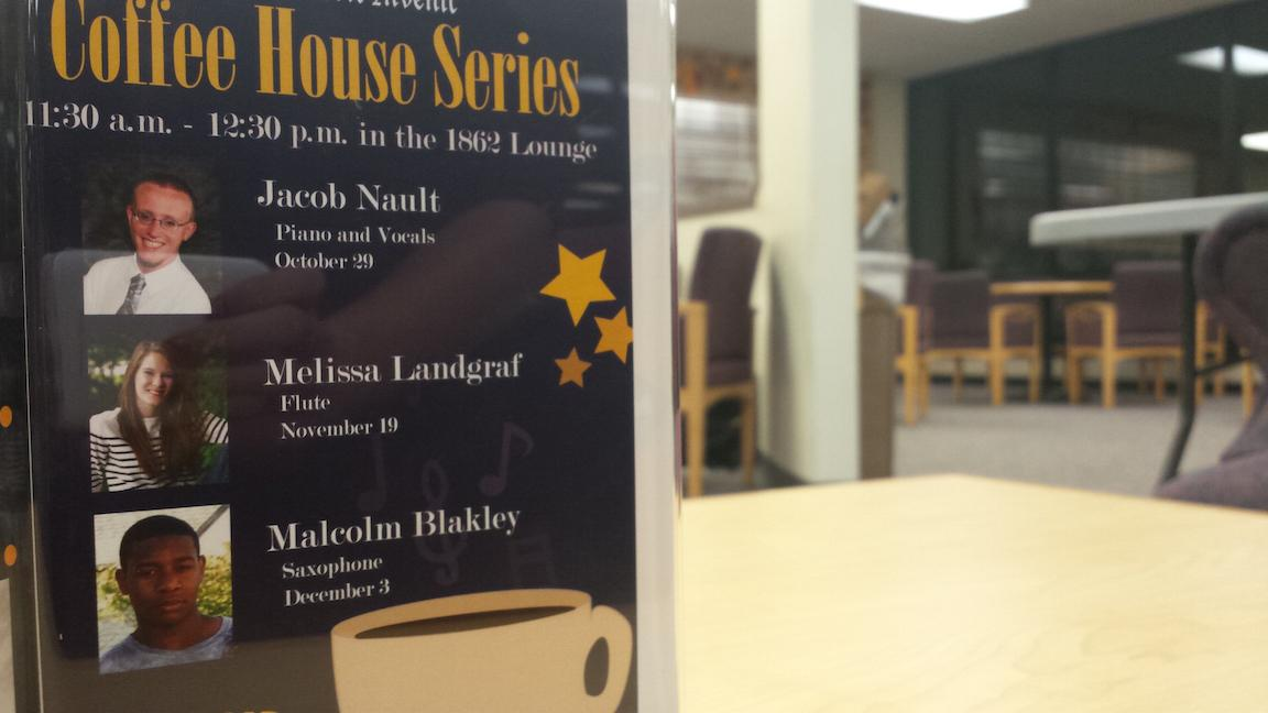 The Coffee House Series features the talents of Lakeland students who have shined brightly.