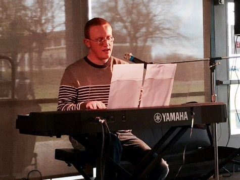 VIDEO: Jacob Nault wows audience in first Coffee House series performance