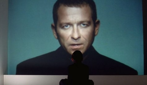 "A still from Kurt Wimmer's ""Equilibrium"" (2002)"