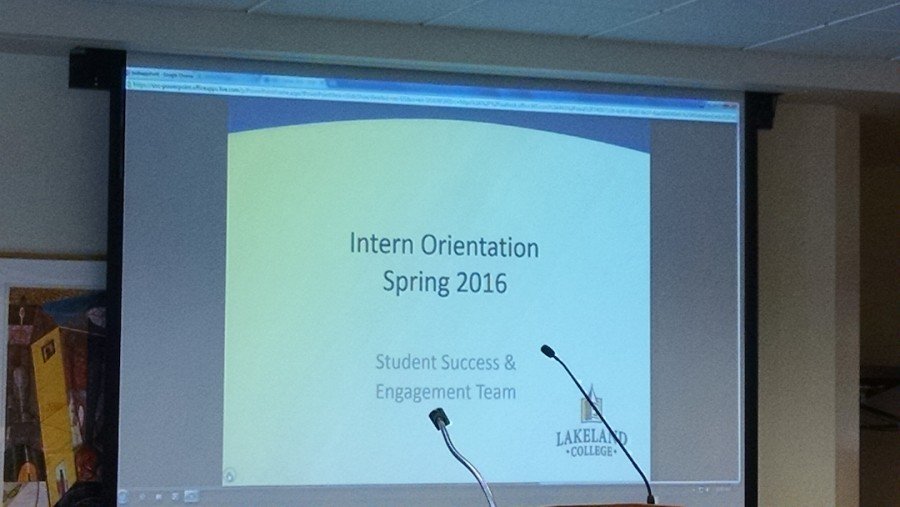Interns learn tips for success