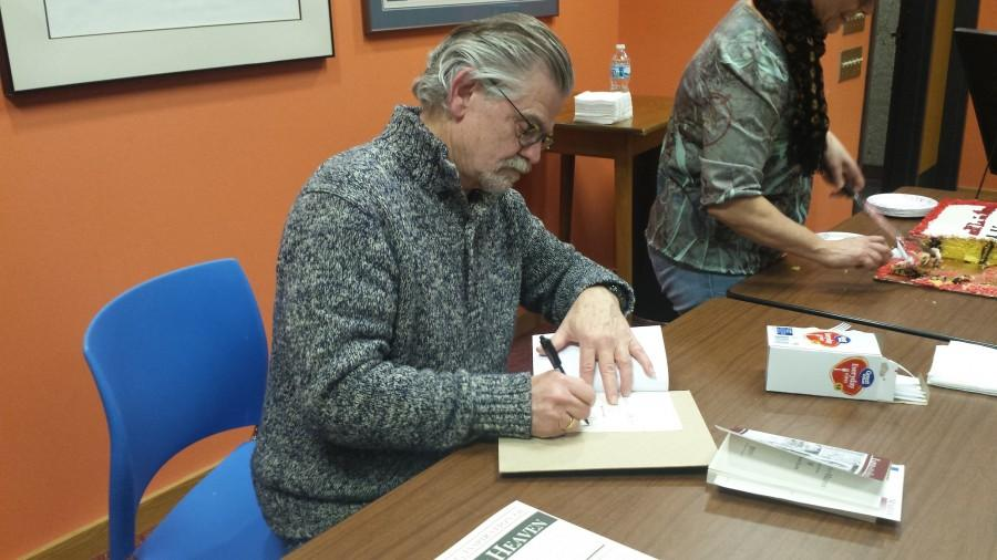 Karl Elder presents new book at reading