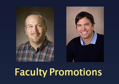 Faculty members promoted