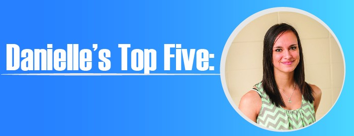 Danielle's Top Five: Things to do in the library