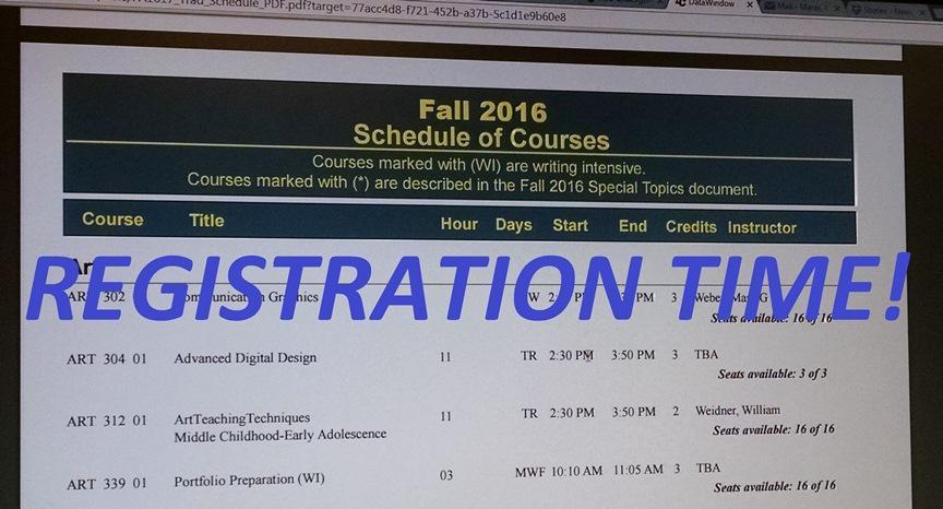 Registration begins March 16
