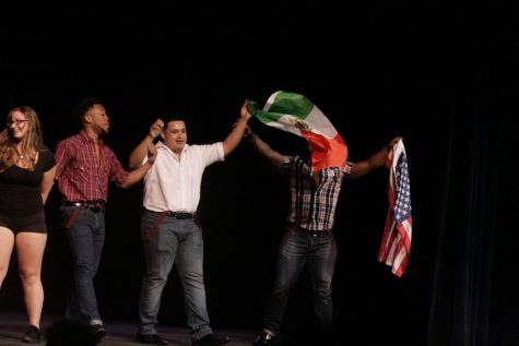 Audience supports International Night