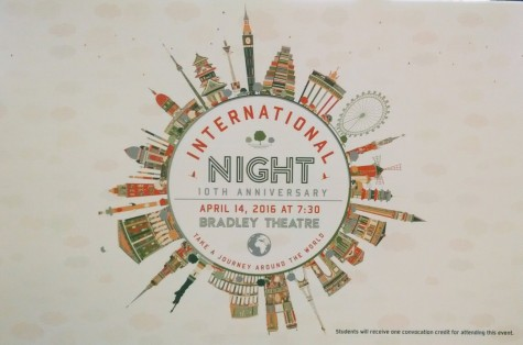 International Night coming soon