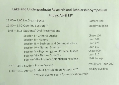 Undergraduate Research Day to showcase student research and scholarship