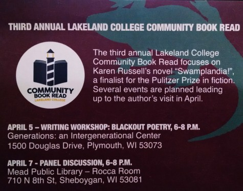 Community Book Read events coming soon