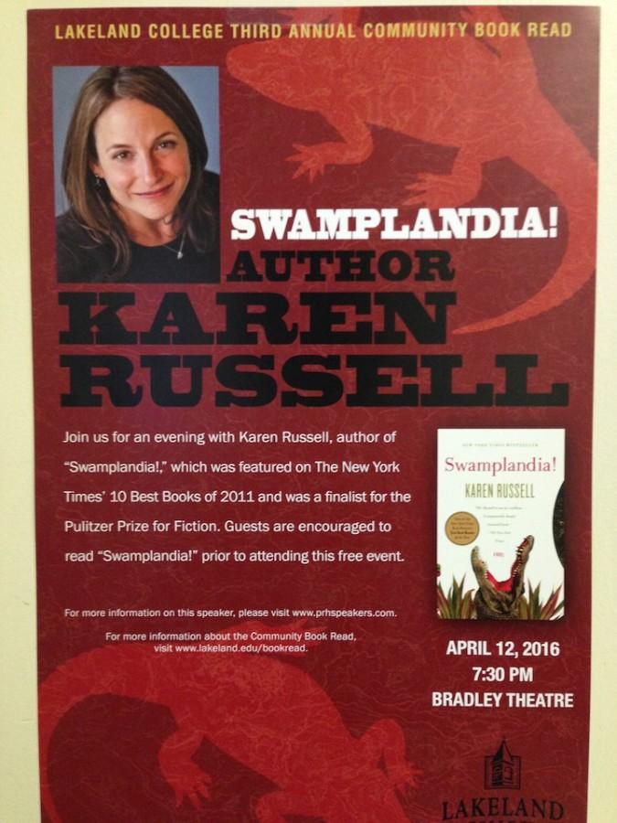 Pulitzer finalist to visit Lakeland for Community Book Read