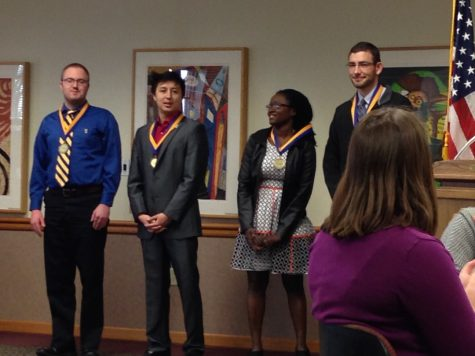 New Student Government Association members inaugurated