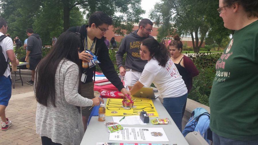 Campus hosts involvement fair