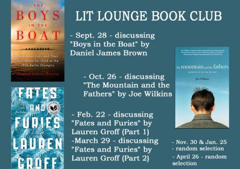 Book club begins second year