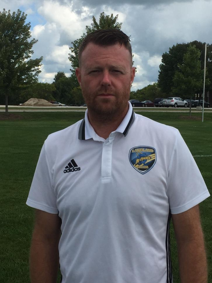 Marc Baumbach, the new head coach for men's soccer.