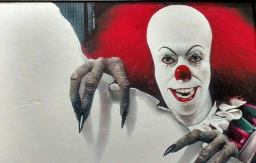 Pennywise+the+clown+from+%22IT%22+as+portrayed+by+Tim+Curry.